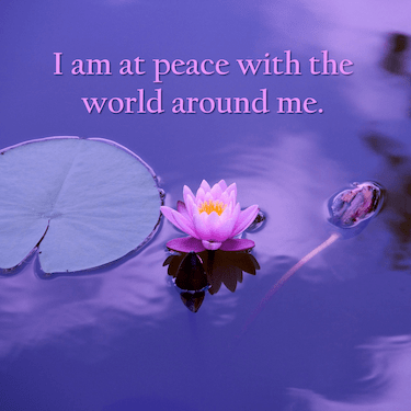 Affirmations Inner Peace and Serenity