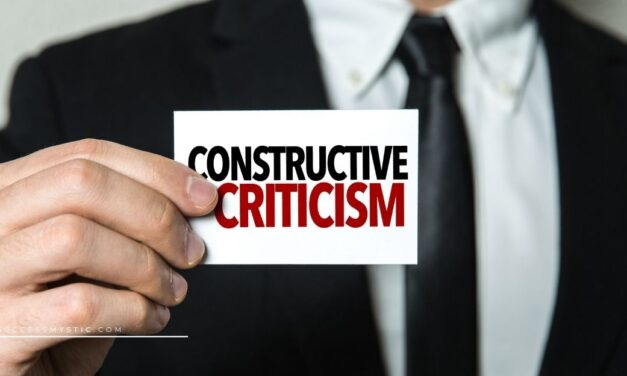 How To Handle Criticism and Use It Constructively