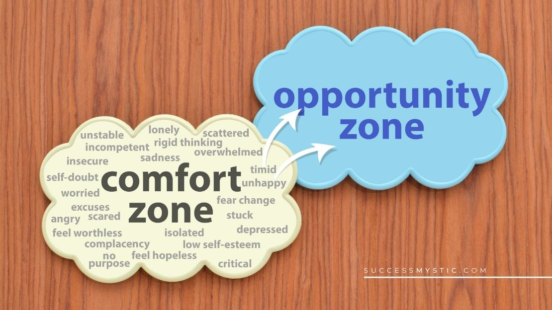 Super Benefits of Going Outside Your Comfort Zone