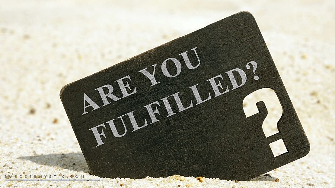 How To Find Fulfillement Within Yourself